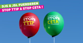 Stop CETA & Stop TTIP Balloons